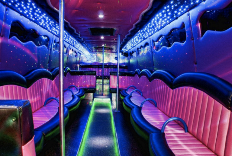 An example of party bus in Belfast, Ireland
