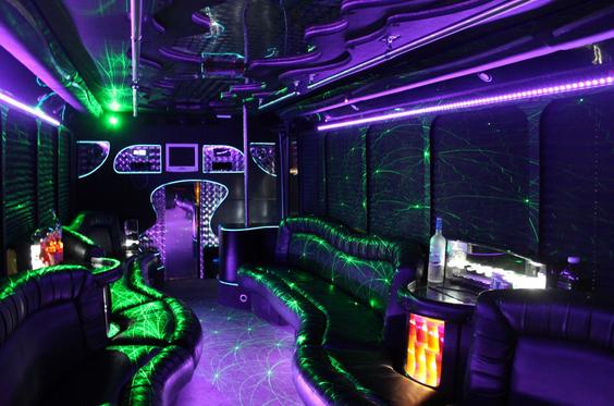 Party bus in Dublin, Ireland